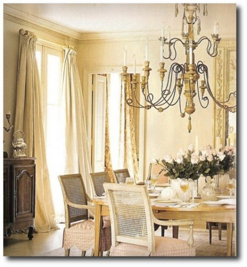 Gerrie Bremermann's Home Decorated with French Antiques