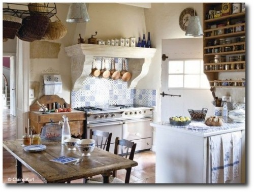 Old World French Provence Homes- maison-deco