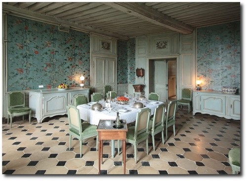 Chateau of Talcy- Dining Room
