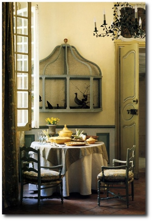 French Interior - Unknown Credit