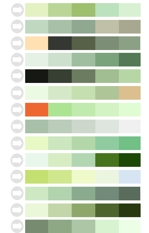 Green Grey Color Palette Images