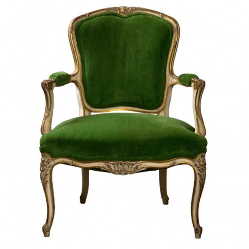 French Armchair -Greenwich Living Antiques & Design Center