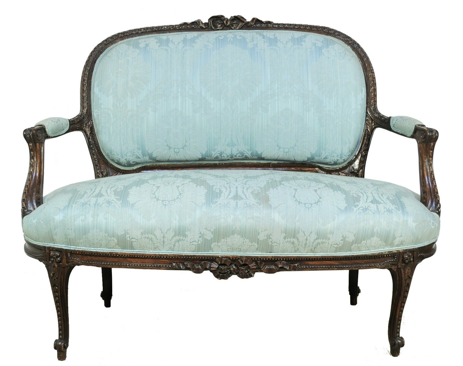 French Style Sofas Ebay Chaise Longue Ornate Gold Leaf