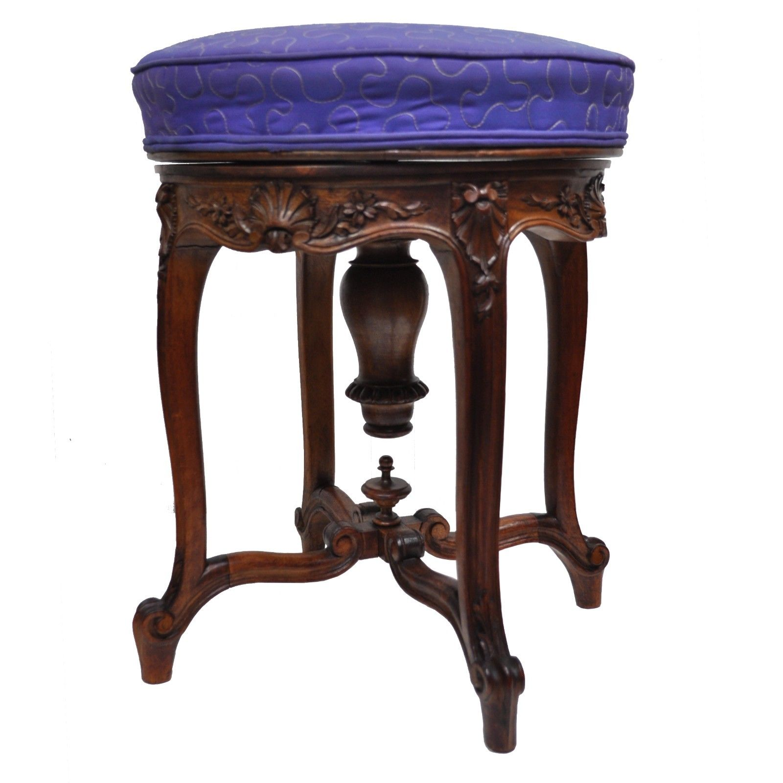 Awesome Antique French Louis Xv Style Finely Carved Walnut Caraccident5 Cool Chair Designs And Ideas Caraccident5Info