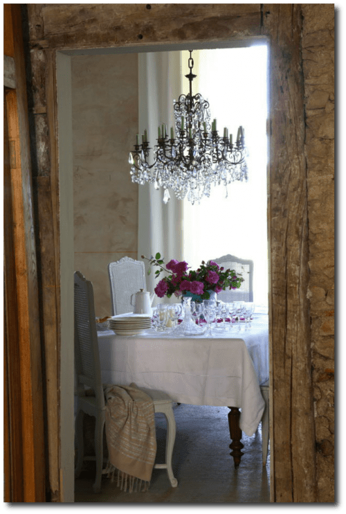 French Style Decorating Seen On Luc Productions web site.