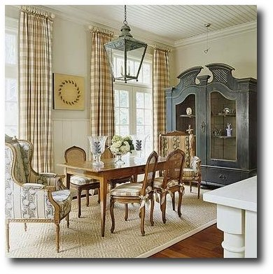 French Style Dining Seen On Better Homes and Gardens Magazine