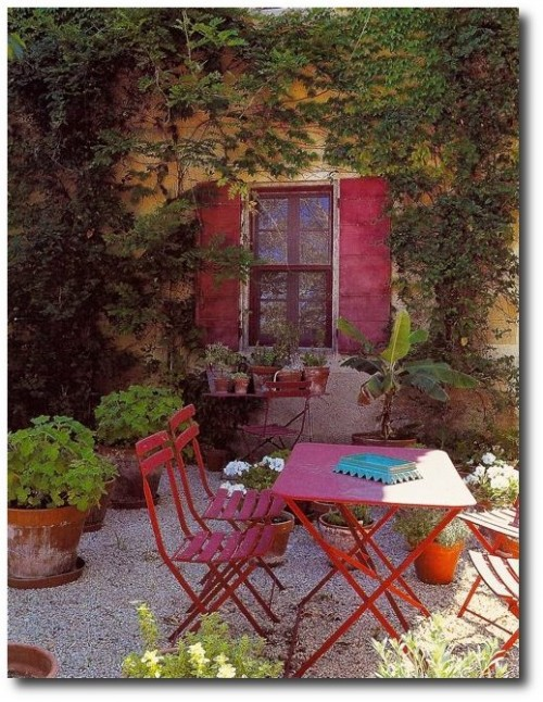 The Garden of Siki de Somalie, Provence, France – Image Country Houses Of France by Barbara & René Stoeltie