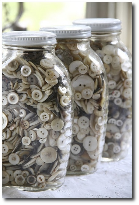 Decorating With Buttons - Provence Accessory Ideas
