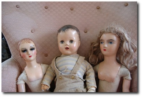 Flea Market Antique Dolls