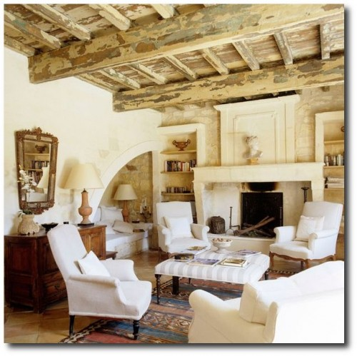 Former barn in Provence decorated by Sally Jeeves