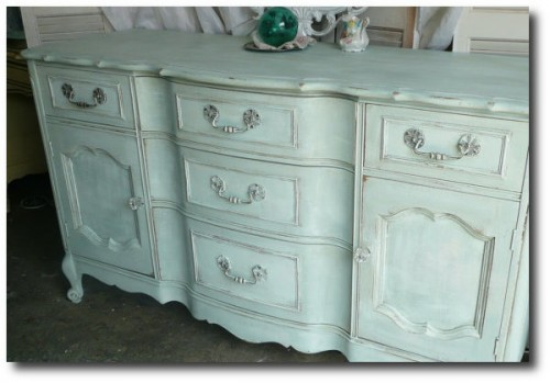 French Country Console Seen on Poppy Cottage on Etsy