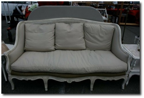 French Provincial Sofa Seen On Vignette Design Blog