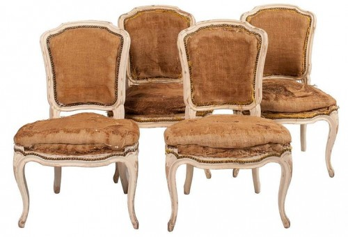 Myra Hoefer - Louis XV Dining Chairs, Set of 4