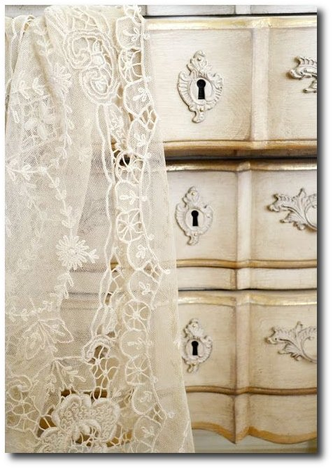 Raw French Furniture and Lace