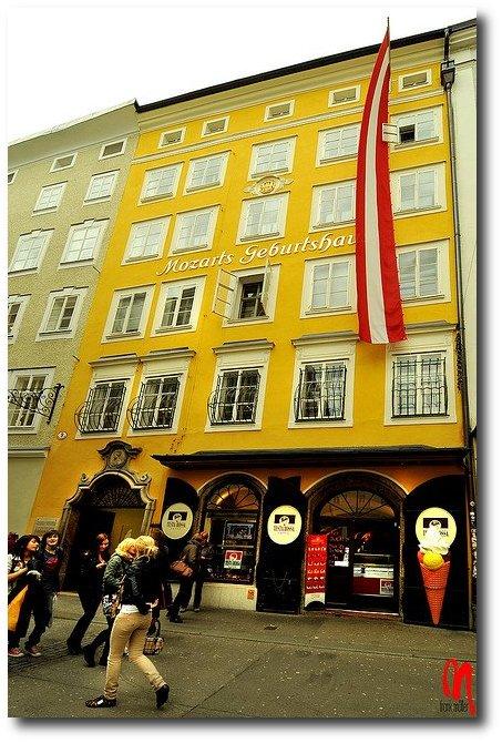 Salzburg, Austria - Mozart's Birthplace