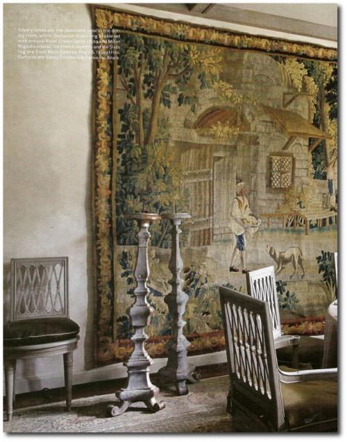 European home designed by Eleanor Cummings, Babs Watkins and Julie Watkins Baker 4