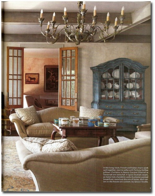 European home designed by Eleanor Cummings, Babs Watkins and Julie Watkins Baker 6