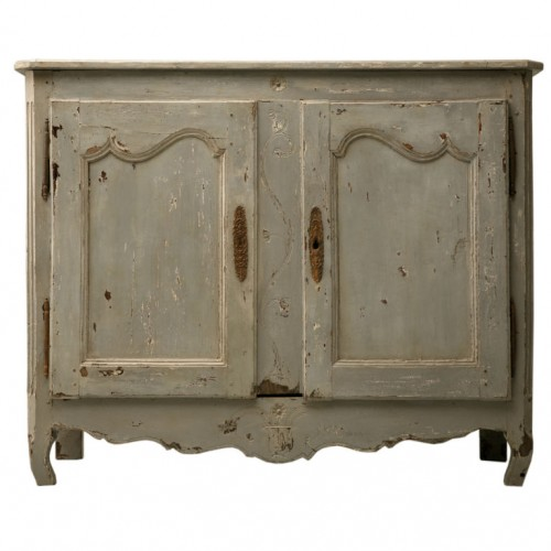 Exquisite Antique French Painted Louis XV 2 Door Buffet Antiques on Old Plank Road