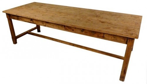 French antique farm table,heavy pine wood,circa 1850 #EB-T2136 Prov2009 ebay