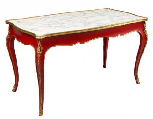 Jansen, 1950's Louis XV style Coffee Table L'Art De Vivre
