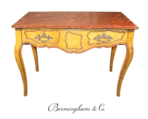 Louis XV Period Painted Console Table