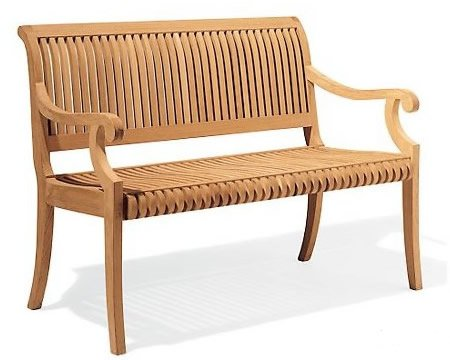Wood luxurious 5 Feet Bench $417 On Amazon