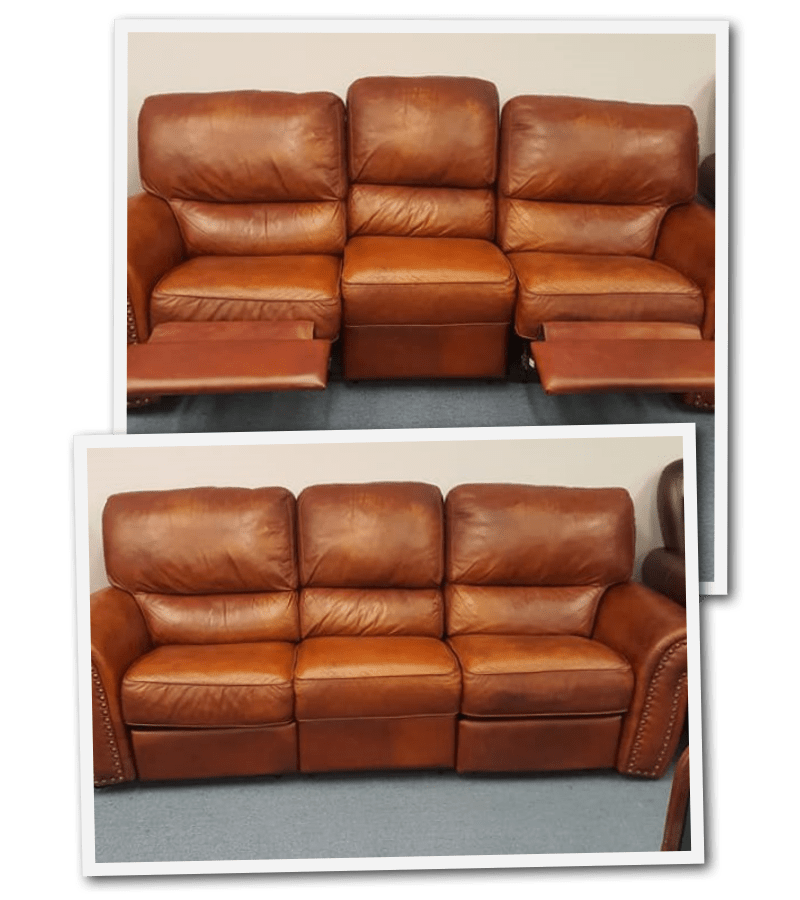 How To Re Faded Leather Furniture, Brown Leather Dye For Furniture