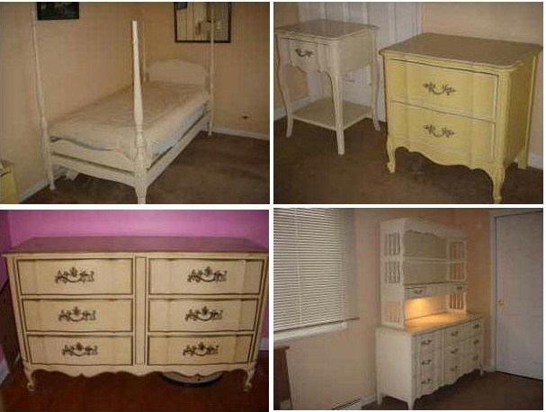 Dixie French Provincial Bedroom Set