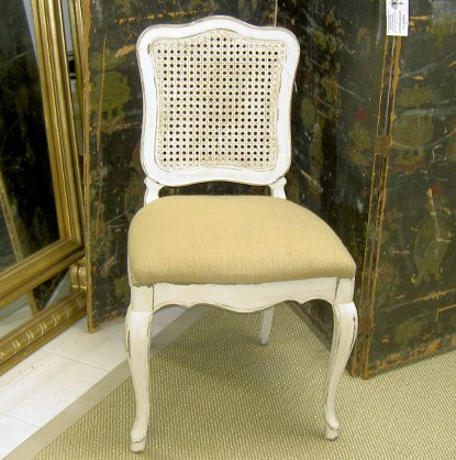 Brand new PROVINCIAL-STYLE CANEBACK CHAIR The French Apartment Washington DC UP79