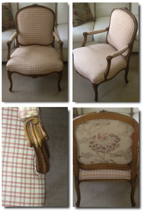 French Provincial Louis Xv Style Chair